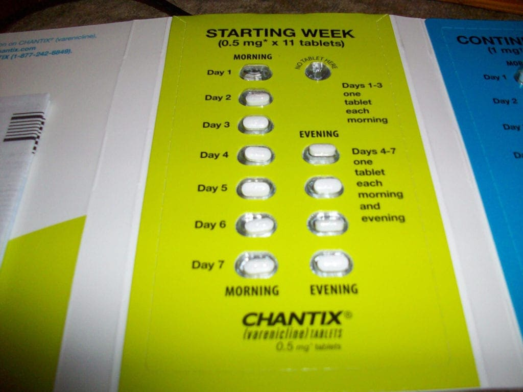 Chantix dosage day by day