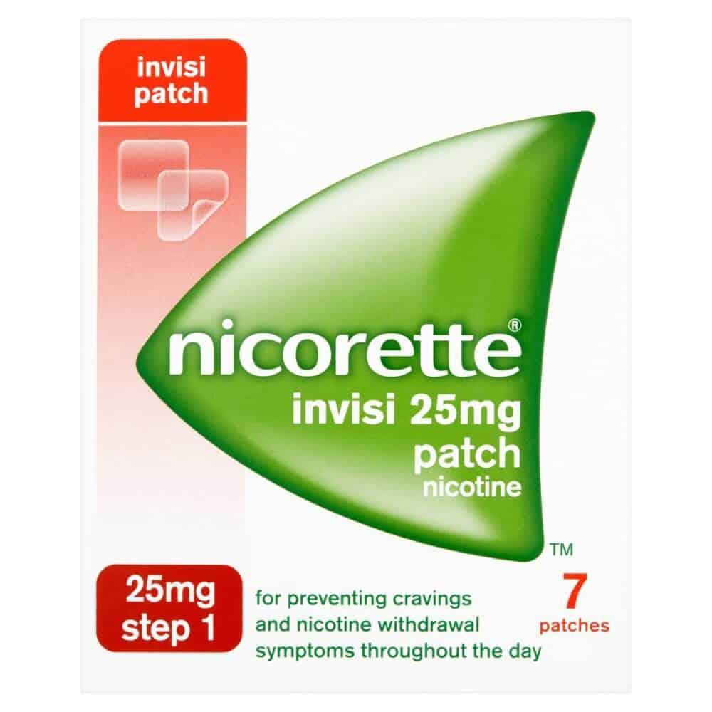 Nicorette nicotine patch
