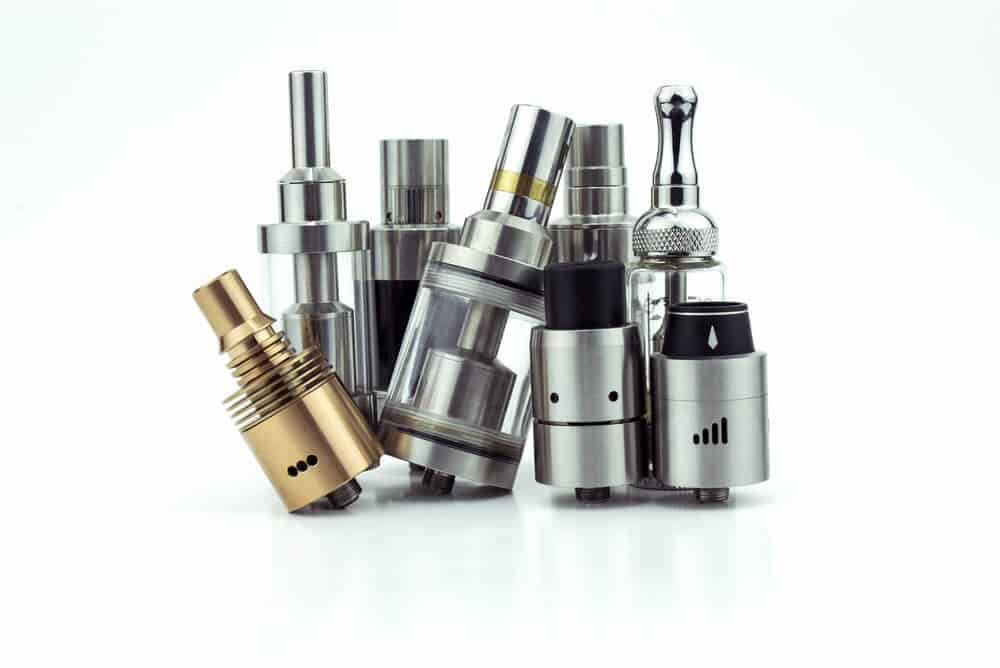 a bunch of vape tanks image