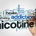 nicotine addiction and high