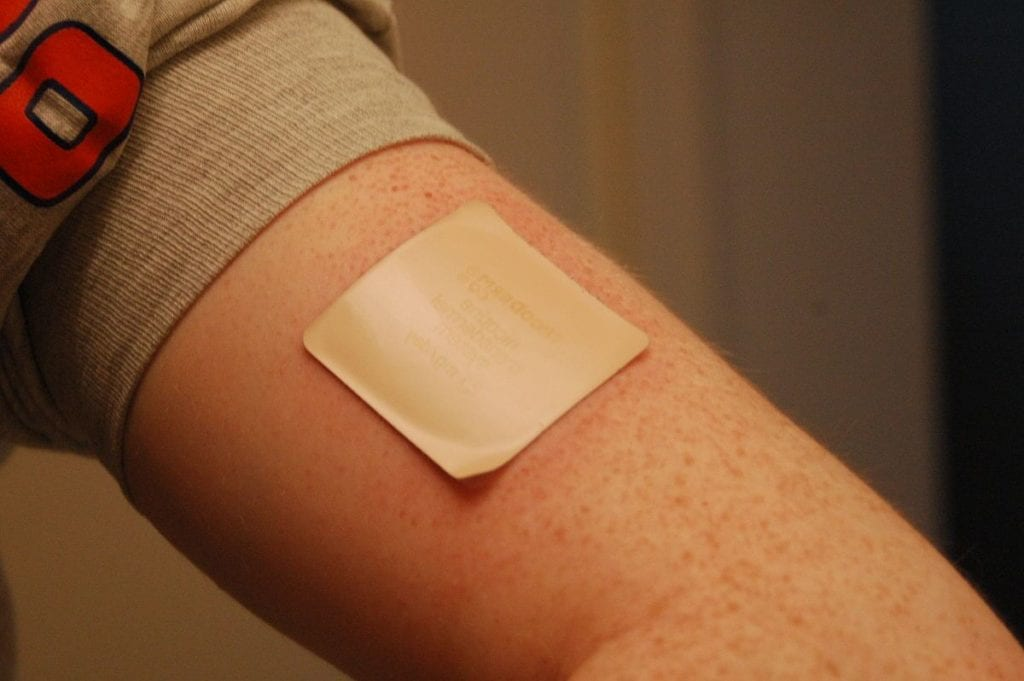 nicotine patch image