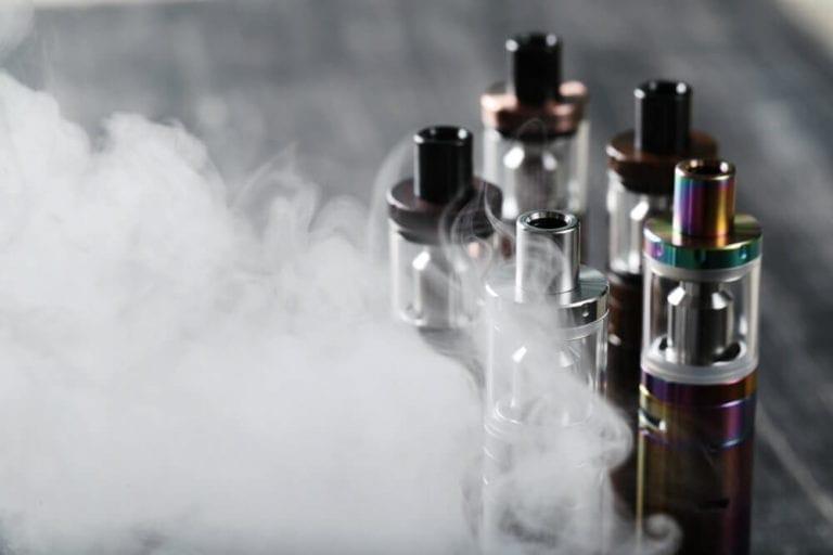 vape tank atomizers in vapor image