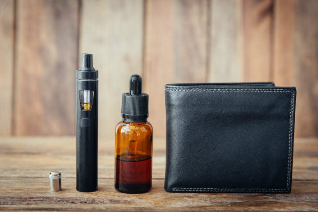 vape wallet and vape juice