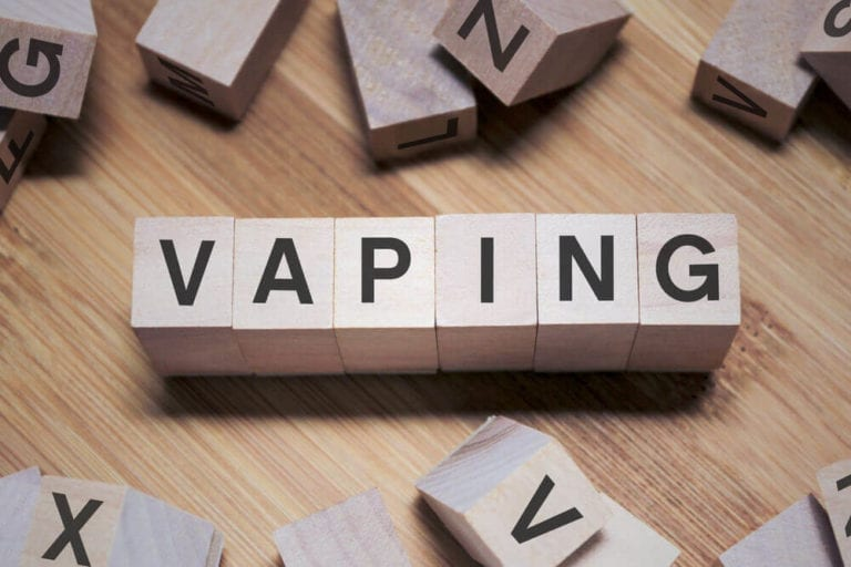 vaping word