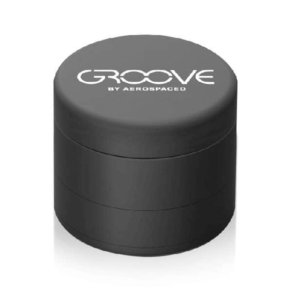 Aerospaced Groove 4 Piece weed grinder