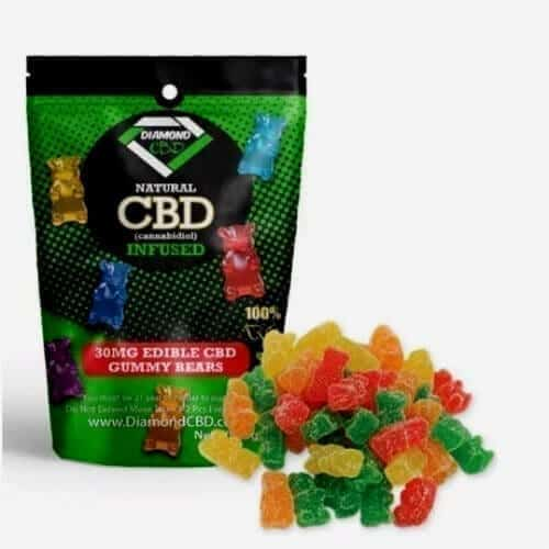 Diamond CBD Gummies image