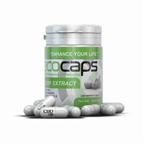 Ecocaps Bottle – 30 CBD Capsules image