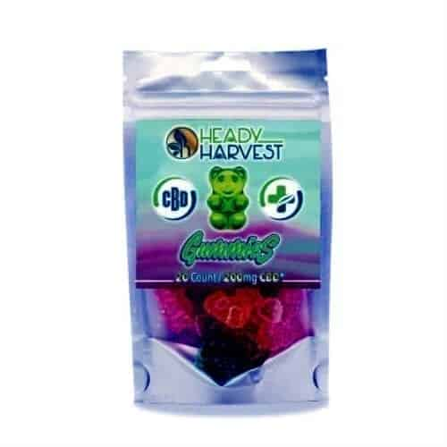 Heady Harvest CBD Gummies image