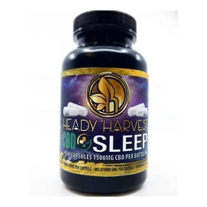Heady Harvest Sleep Capsules (60ct1500mg)