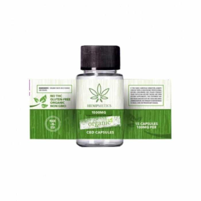 Hempmetics Organic CBD Capsules
