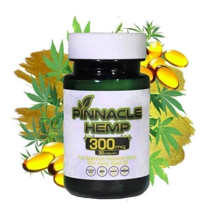 Pinnacle CBD Capsules