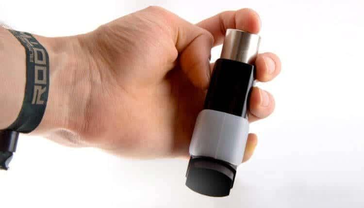 PuffIt Inhaler size