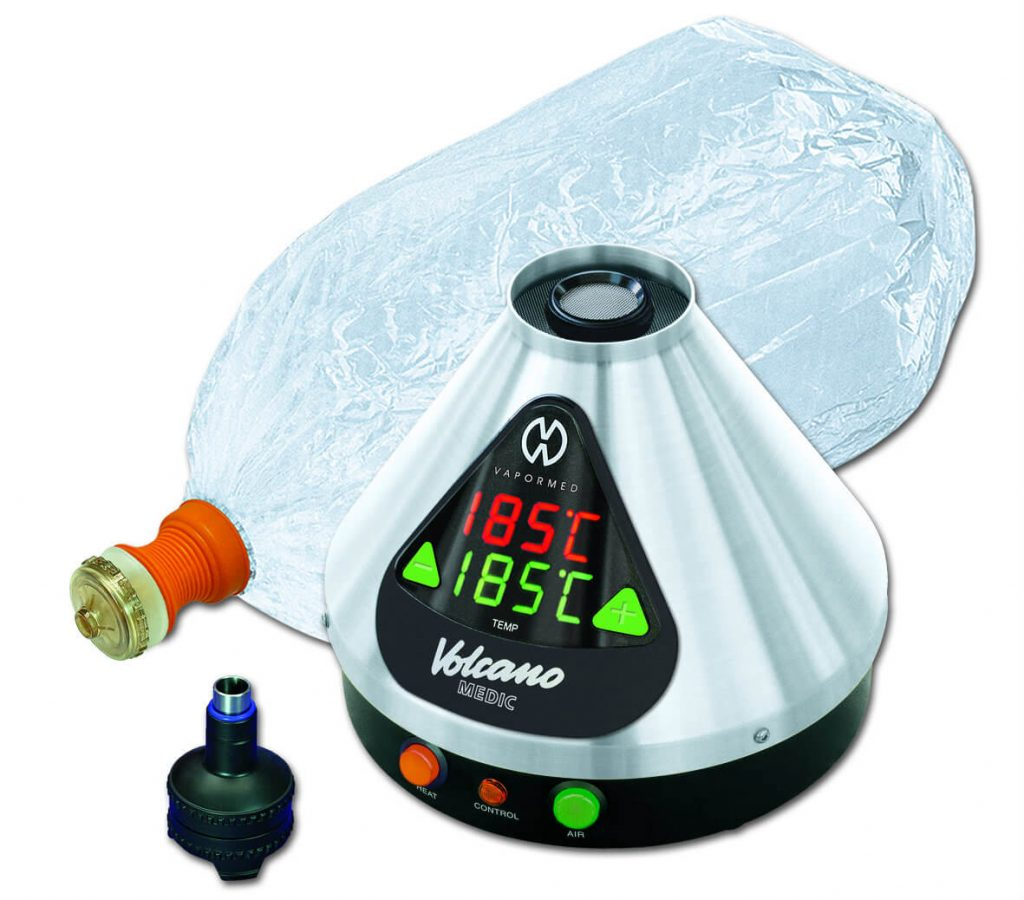 Volcano Digit Vaporizer and 1 bag