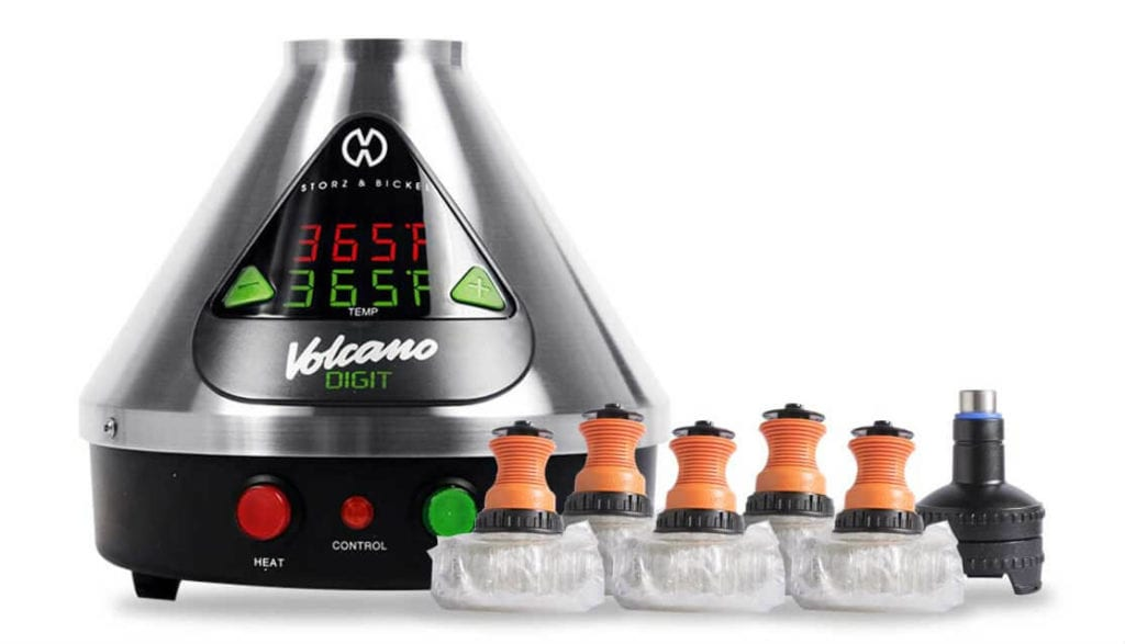 Volcano Digit Vaporizer with bags