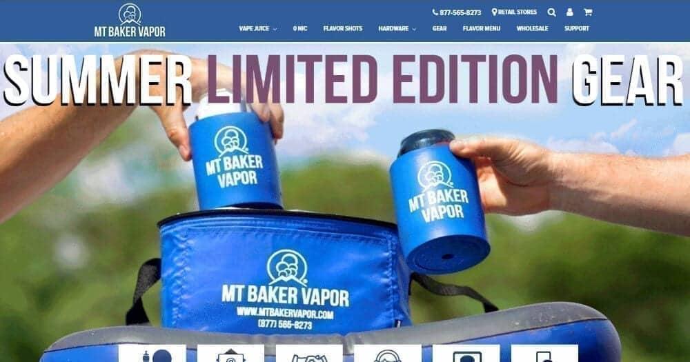 MT Baker Vapor online shop image