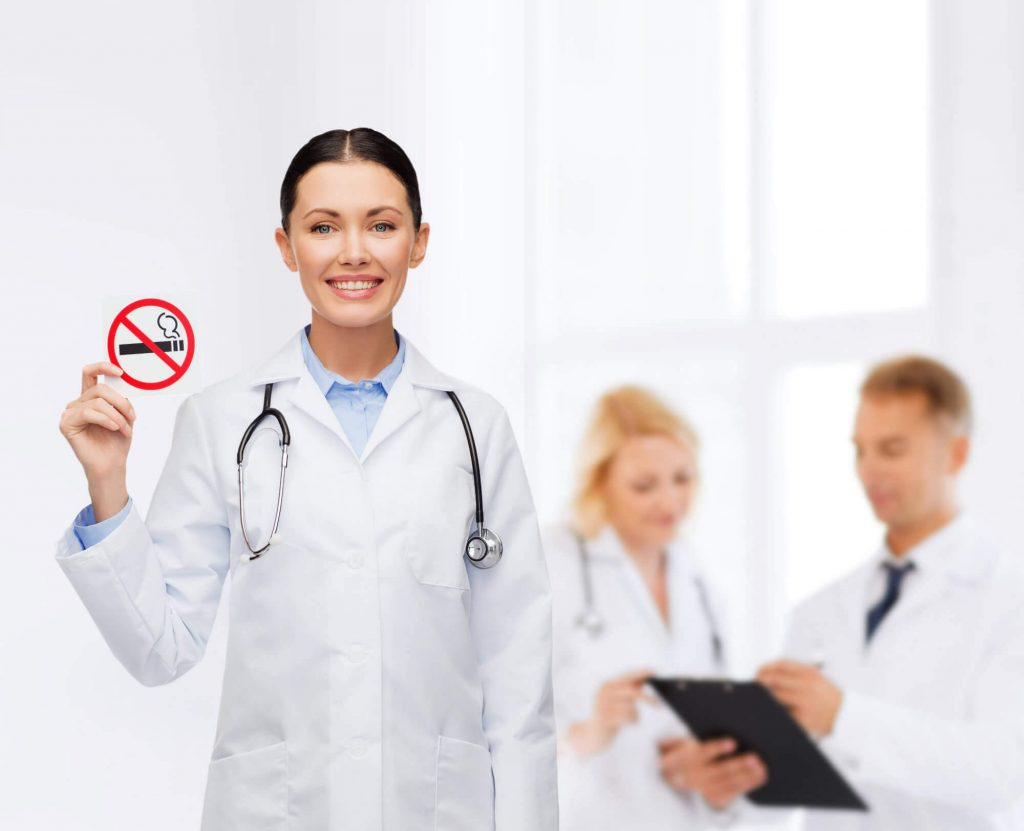 doctors are against smoking image