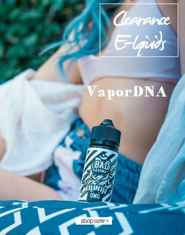 VaporDNA Clearance E-Liquids image