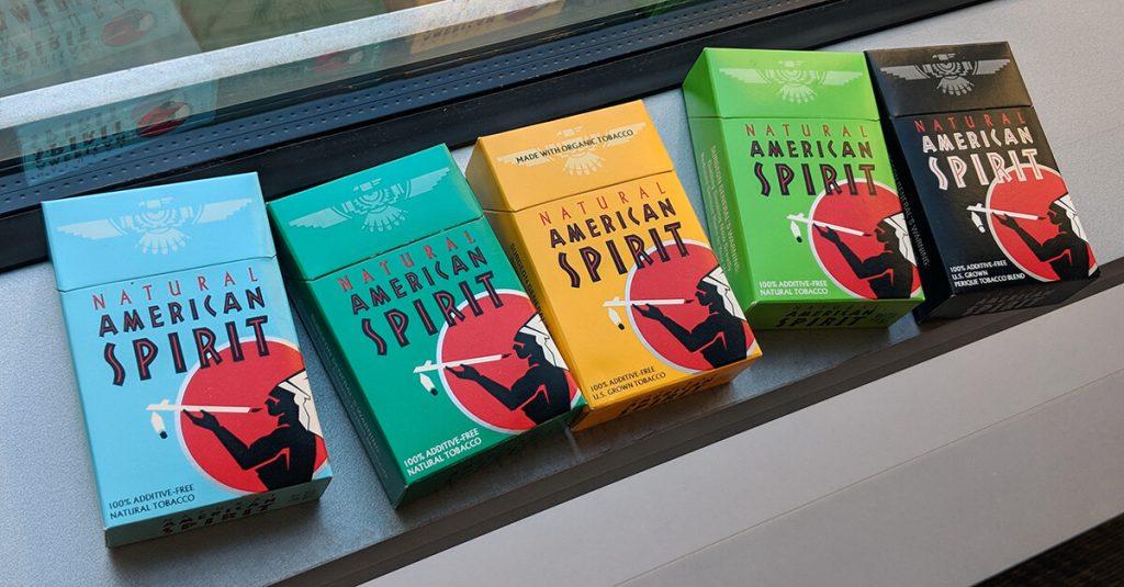 organic cigarettes American Spirit image