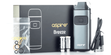 Aspire Breeze box image