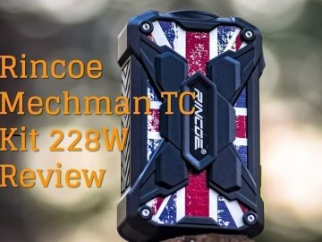 Rincoe Mechman TC Kit 228W Review featured image