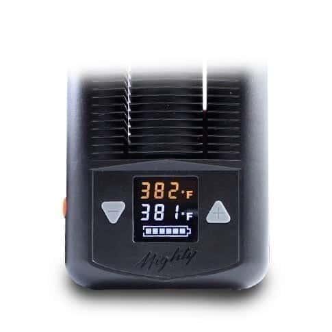 Mighty Vaporizer display