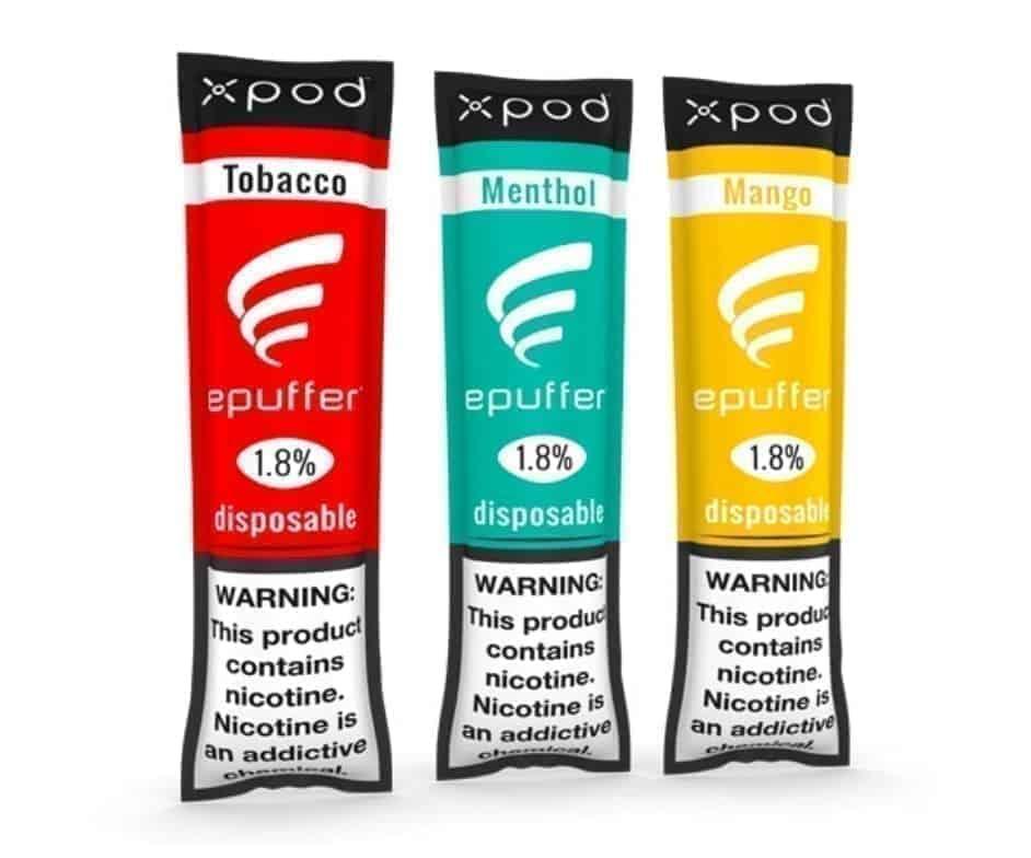 ePuffer XPOD™ Mini variety packs