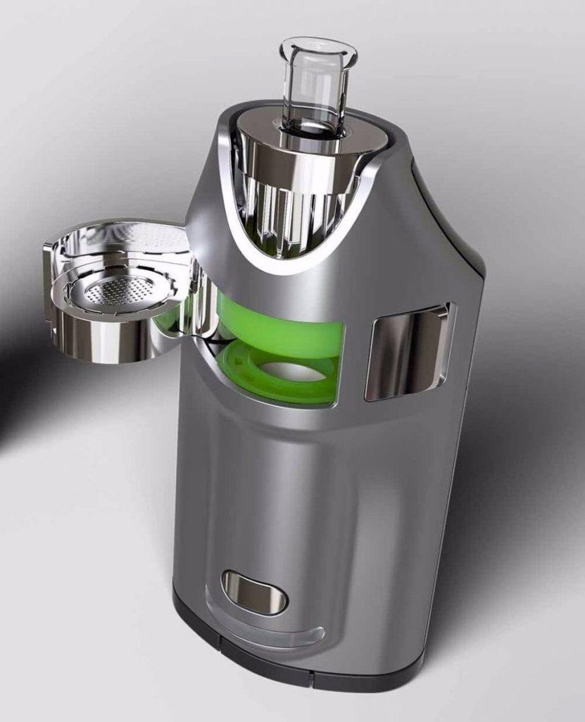 GHOST MV1 Vaporizer open top