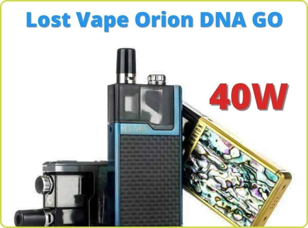 Lost Vape Orion DNA GO featured image