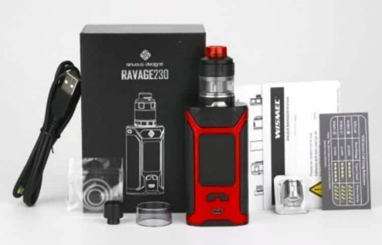 Wismec Ravage 230 kit