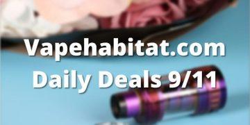 Vapehabitat.com Daily Deals 911 featured image