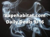 Vapehabitat.com Daily Deals 916 featured image
