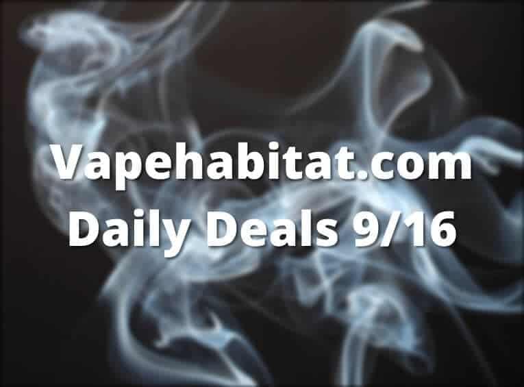 Vapehabitat.com Daily Deals 916 featured image