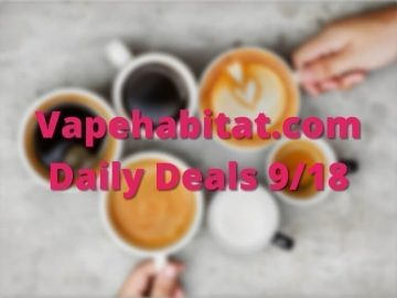 Vapehabitat.com Daily Deals 918 featured image