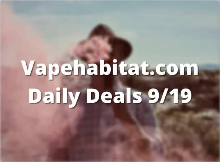 Vapehabitat.com Daily Deals 919 featured image