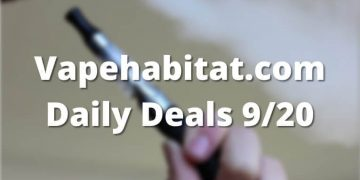 Vapehabitat.com Daily Deals 920 featured image