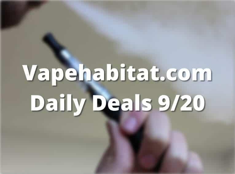 Vapehabitat.com Daily Deals 920 featured image