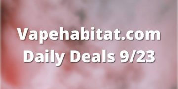 Vapehabitat.com Daily Deals 923 featured image