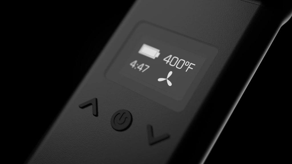 AirVape X display