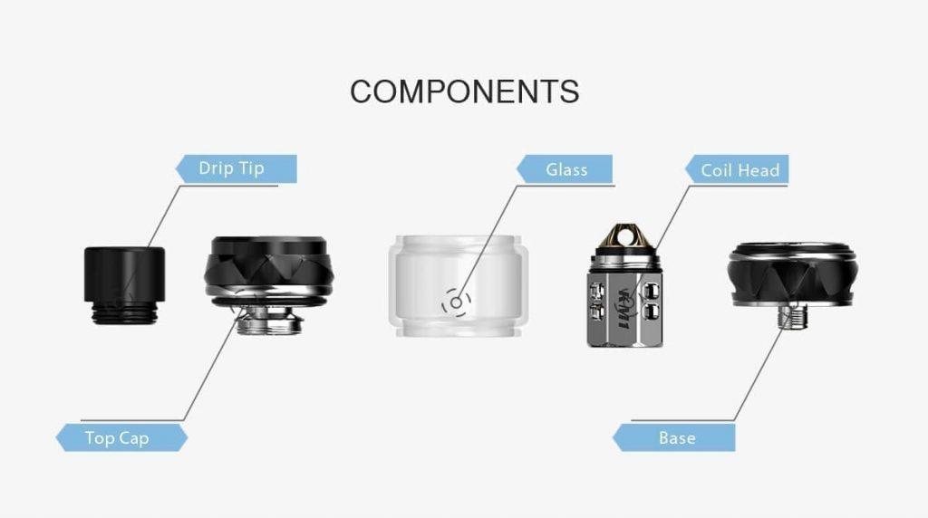iJoy Shogun UNIV tank components