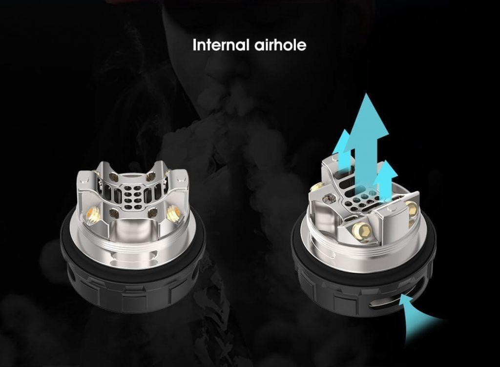 Kylin V2 RTA internal airholes