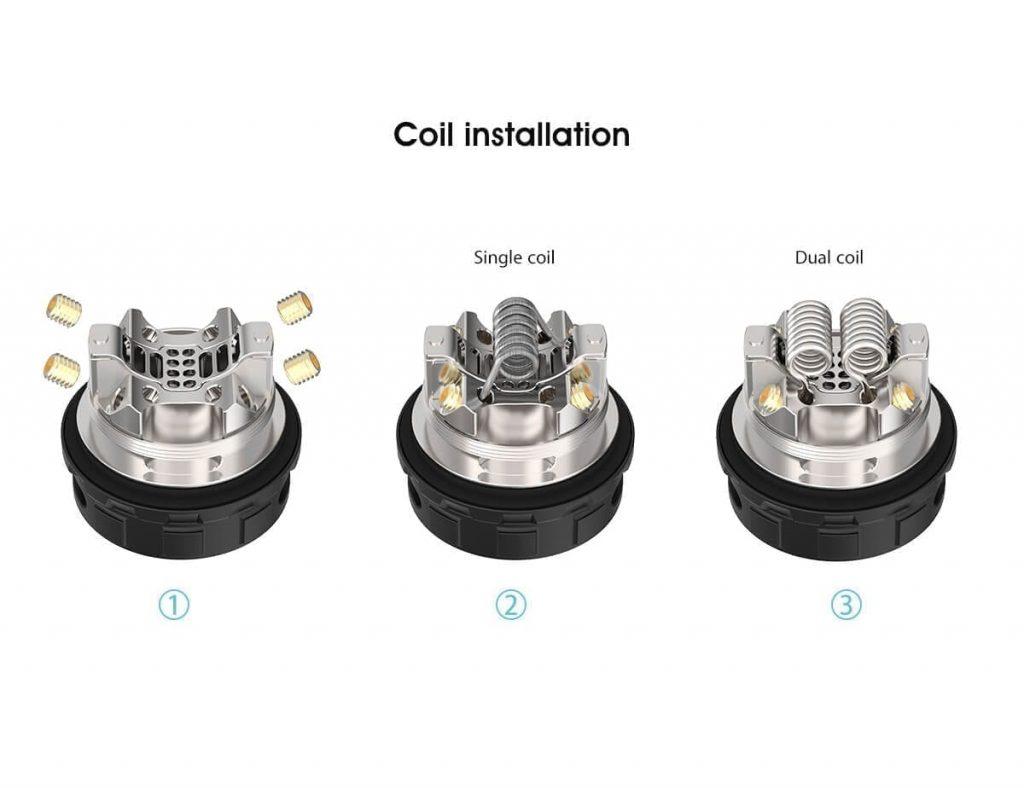 Kylin V2 coil installation