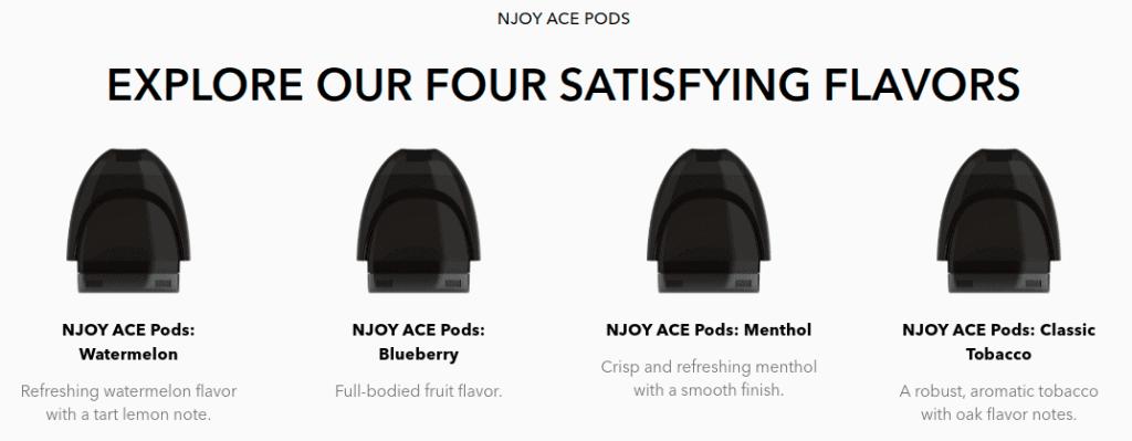 NJOY Ace pods