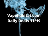 Vapehabitat.com Daily Deals 1119 featured image