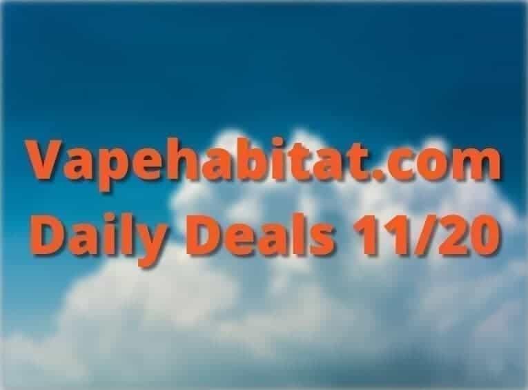 Vapehabitat.com Daily Deals 1120 featured image