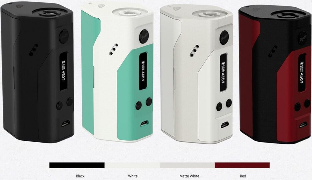 Wismec Reuleaux RX200 colors