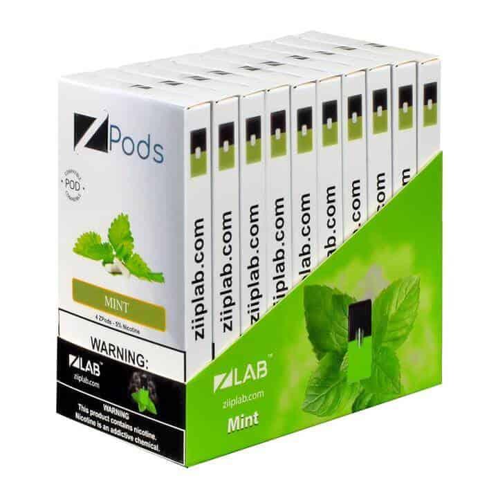 Ziip Pods Flavor Mint