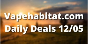Vapehabitat.com Daily Deals 1205 featured image