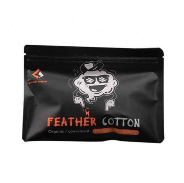Geekvape Squares of Feather Organic Cotton 20pcs image