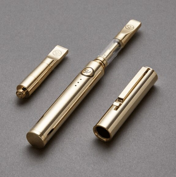 Yellow Gold Luxury Vape Pen image