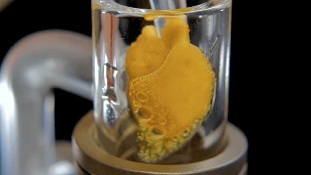 melting dab wax image